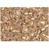 Seedbead 2/0 Crystal Gold Lined
